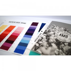 American Made Brand Color Card