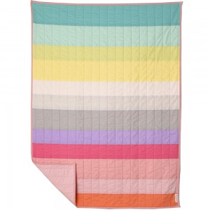 Baby / Toddler Rainbow Stripe Quilt