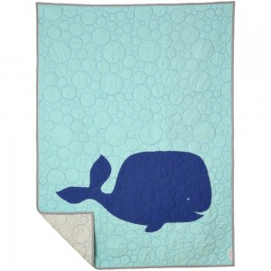 Baby Toddler Whale Tale Quilt